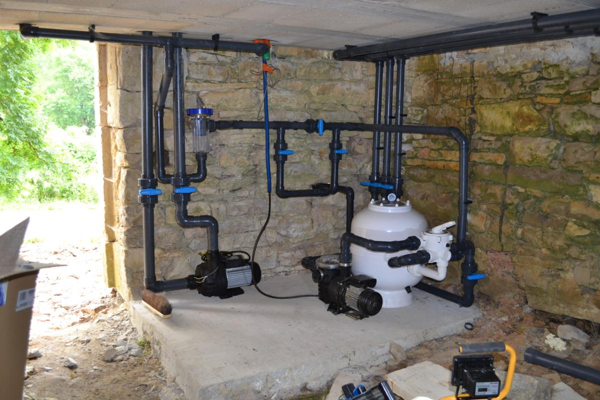 Filtration piscine for Schema filtration piscine